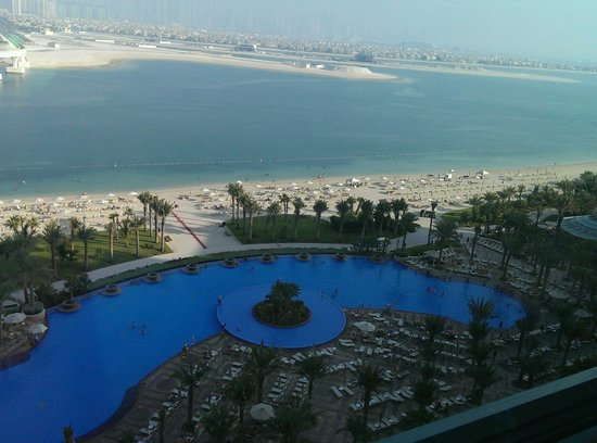 Atlantis, The Palm: Royal pool from my Imperial room