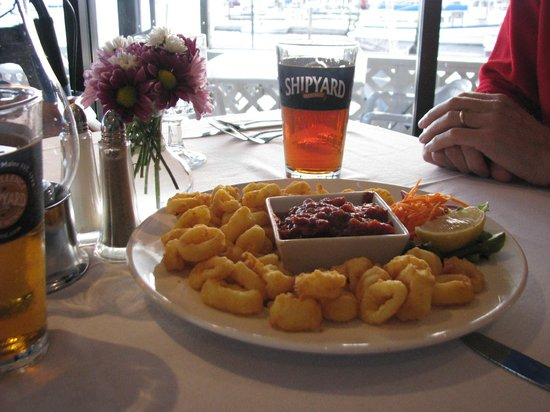 Fisherman's Wharf Inn Restaurant : A wonderful Calamari appetizer