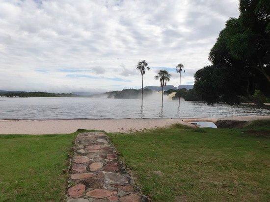 Campamento Canaima: Vista desde la Habitacion