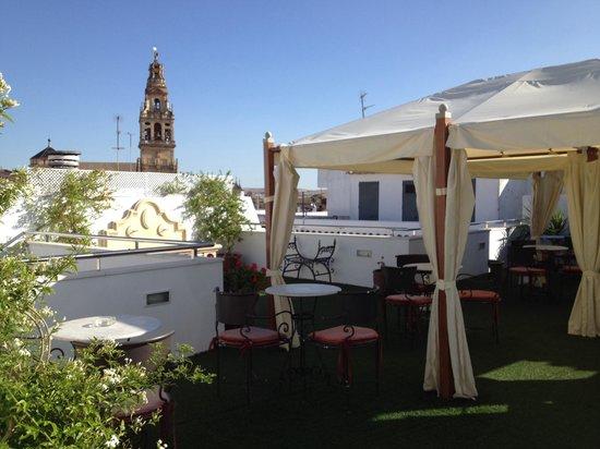 Hospederia del Atalia : Terrazza dell'hotel