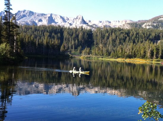 Tamarack Lodge and Resort : Twin Lakes from the Lodge