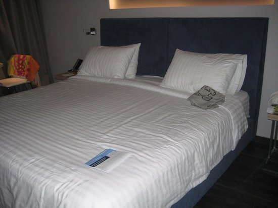 Tesoroblu Hotel & Spa: Lovely comfy bed