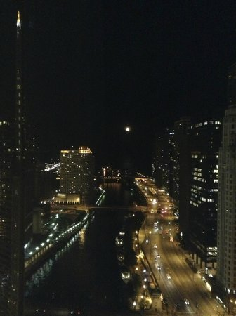 Trump International Hotel & Tower Chicago: view from our room