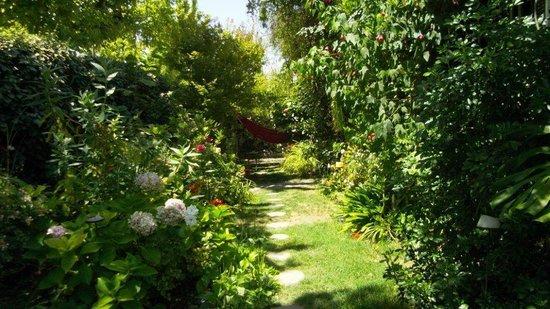 Magda House: Jardin para compartir y desayunar