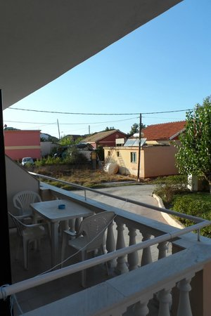 Alkyon Hotel: View from balcony.