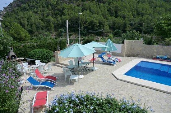 Villa Florencia Casa Rural Gandia: piscina