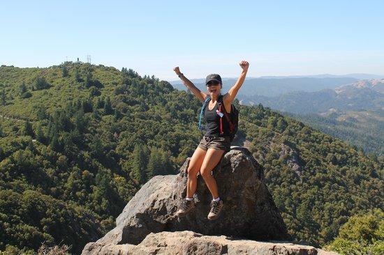 Mount Tamalpais State Park: WOW GREEN!
