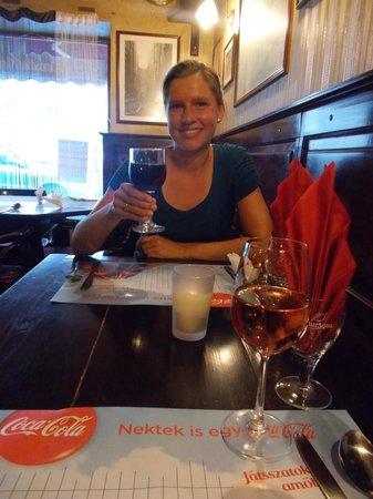 Club Manhattan : Best Hungarian wine :)