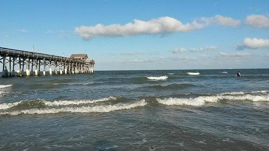 Windsurfing picture of cocoa beach pier cocoa beach for Cocoa beach fishing