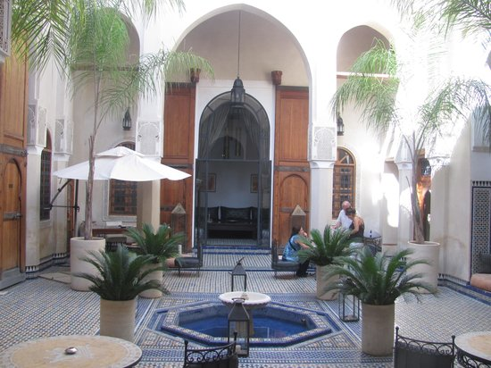 Riad Said: Courtyard