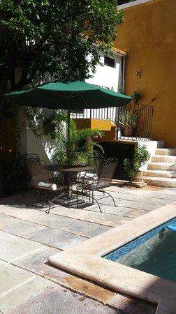 Luz En Yucatan: Poolside