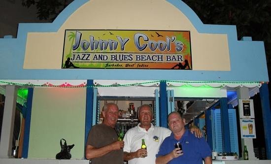 St Lawrence Gap: Johnny Cool's,Dover Beach.