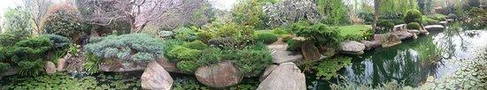 Panorama view of Himeji Garden