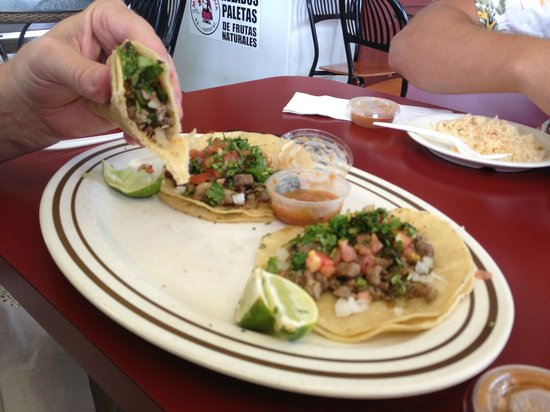 Alegria Tacos : Tacos are the best