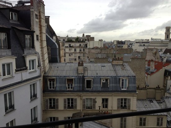 Hôtel Lutetia : View from my room...truly Paris!