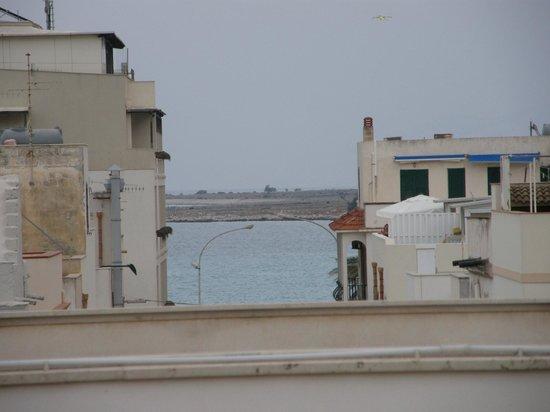 Poseidon Residence : vista dal terrazzo