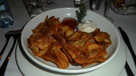 Jemima's Restaurant: Bucce di patata fritte... favolose!