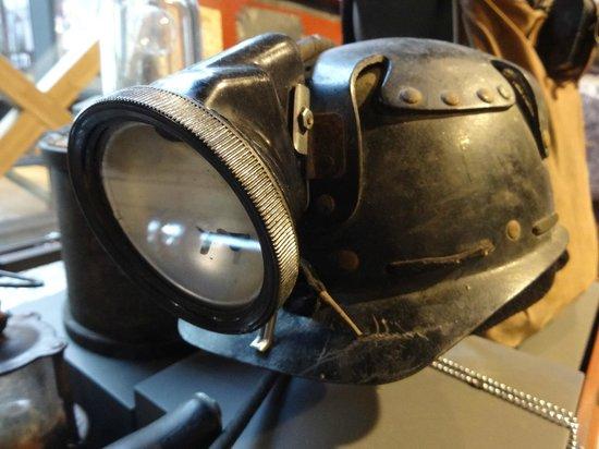 Coaltown Museum: Miner's helmet
