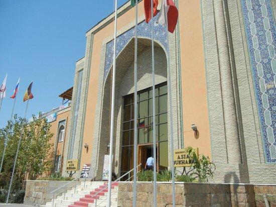 Asia Bukhara Hotel: Morning View