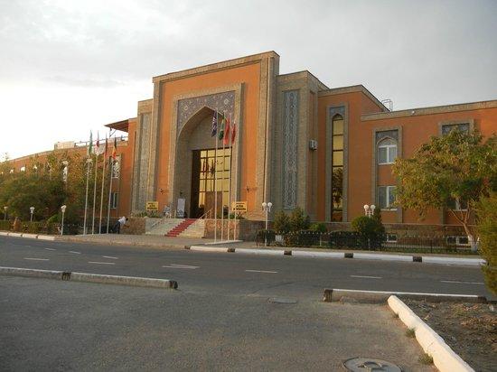 Asia Bukhara Hotel: Evening View