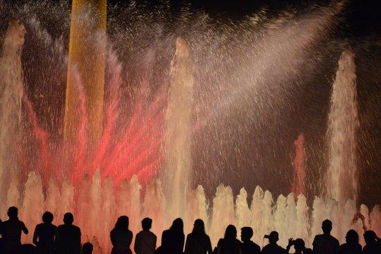 ปาร์คเดอร์มุงต์จุยค์: Montjuic Fountain Show #1