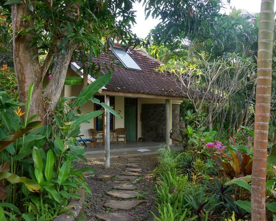 Sananda Bungalows: Access to the bungalow