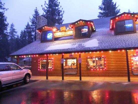 Grizzly Cafe : Por fora é colorido e lindo