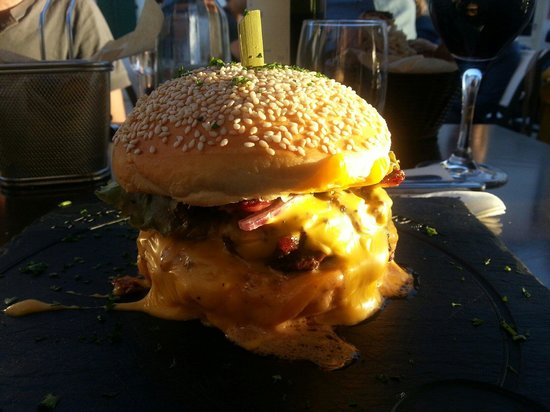 L'endroit du goinfre : Super burger