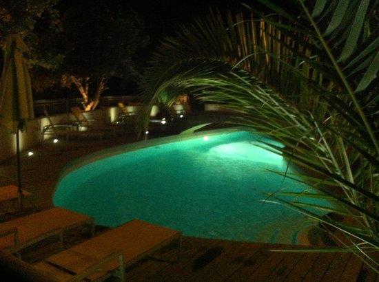 Bungalows du Maquis: piscine divine