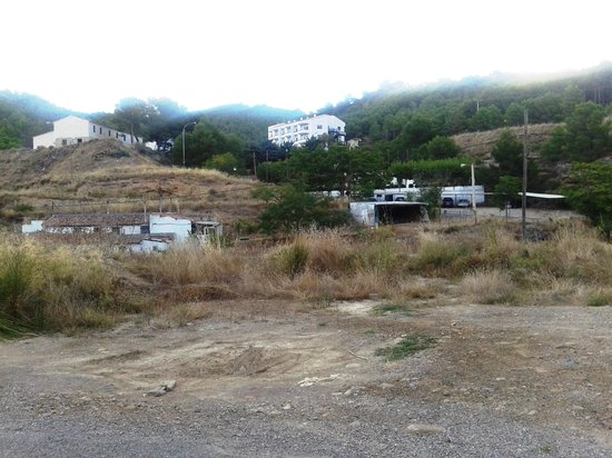 Balneario de Fitero : naturaleza en el entorno