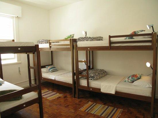 Hostel Bella Paulista : Quarto Coletivo
