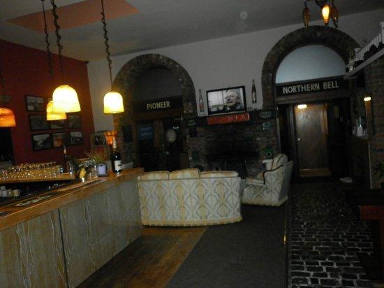 The Sidings Hotel: Bar/reception