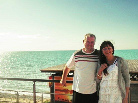 Mar Le Mar Club: Вид на море с костровой площадки