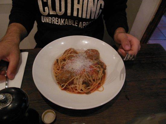Spaghetti House Sicilian Avenue: Spaghetti con polpette