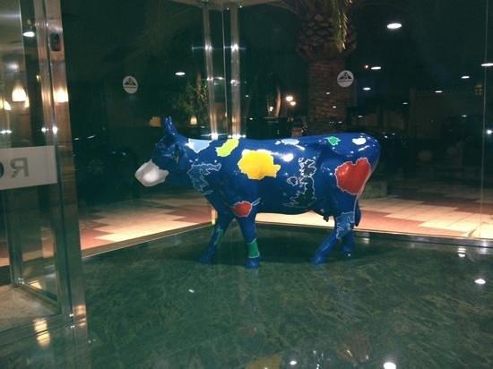 Royal Costa hotel foyer