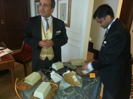 Ciragan Palace Kempinski Istanbul: Amazing soap selection