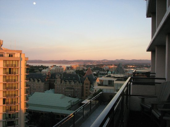 Hotel Grand Pacific : view from the 17th floor