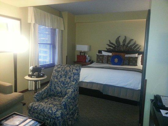 The Heathman Hotel : Bedroom
