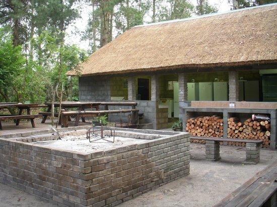 Triton Dive Lodge : Espace Barbecue