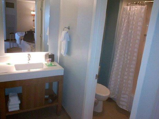 Hyatt Place Waikiki Beach: Bathroom area