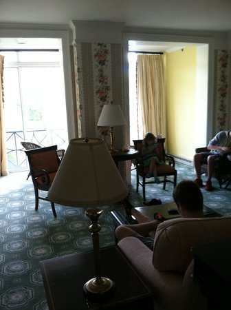 The Omni Homestead Resort: suite