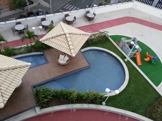 Mercure Salvador Boulevard: vista da piscina