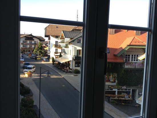 Alpenhotel Wittelsbach: View from room