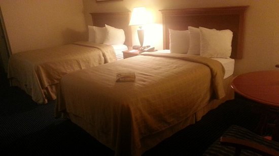Quality Inn Troutville: Double beds