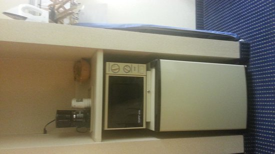 Quality Inn Troutville: Mini-fridge & Microwave