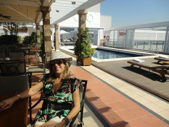 Metropolitan Hotel: Área da Piscina