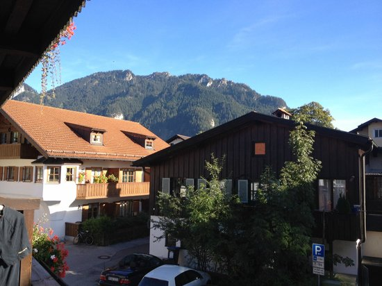 Hotel Wittelsbach: View from room