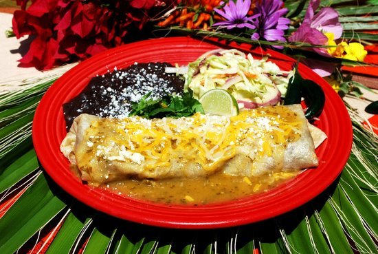 Las Olas Mexican Restaurant: Chile verde burrito