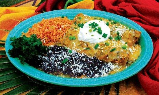 Las Olas Mexican Restaurant: Enchiladas