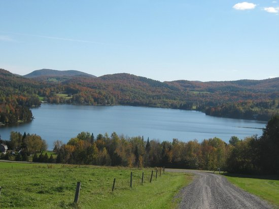 Rodgers Country Inn & Cabins : View of Lake Parker, 4 miles from Rodgers Country Inn